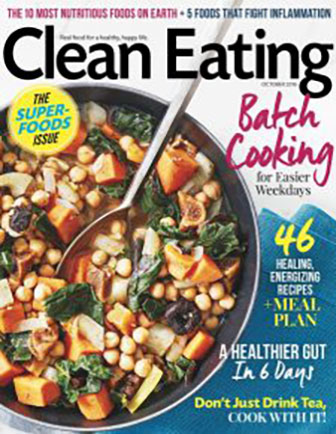 clean eating cover oct 2016