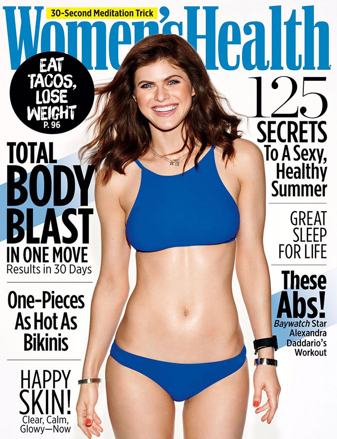 women's health cover june 2017