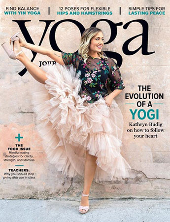 yoga journal aug 2018 cover