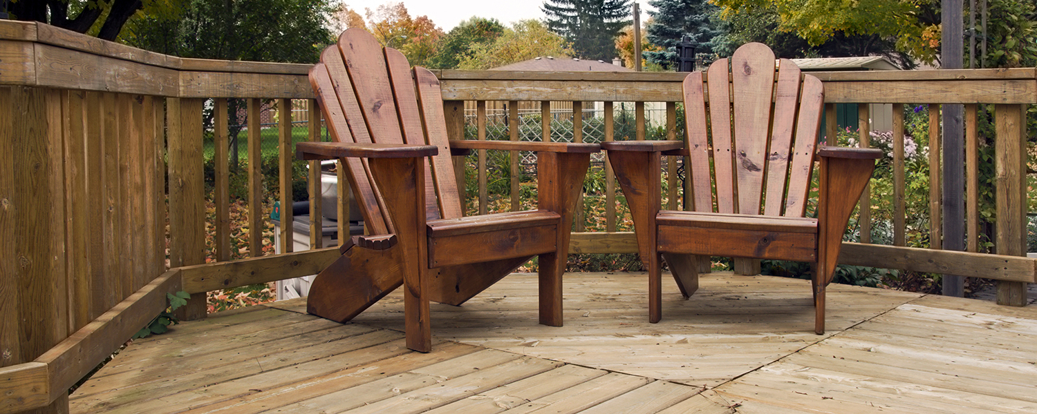 how to store wood furniture long term