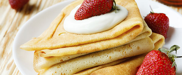 gluten free coconut crepes feature