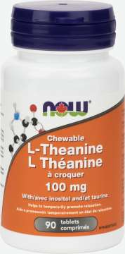 L-Theanine 100mg Plus Chewable