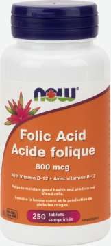 Folic Acid 800 mcg Tablets