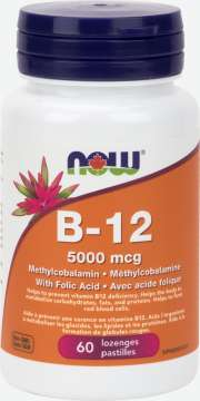 B-12 5,000 mcg Methylcobalamin  Lozenges
