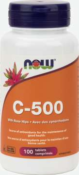 C-500 with 40mg Rose Hips Tablets