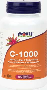 C-1,000 with Rose Hips & Bioflavonoids Tablets