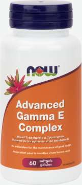 Gamma E Complex (Tocopherols/Tocotrienols) Softgels