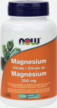 Magnesium Citrate 200 mg Tablets