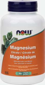 Magnesium Citrate 134 mg Softgels