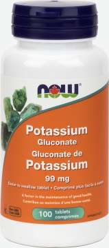 Potassium Gluconate 99 mg  Tablets
