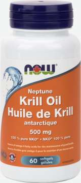 Neptune Krill Oil 500 mg Softgels