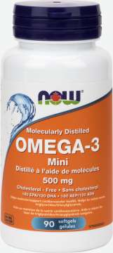 Omega-3 Mini 500 mg Softgels