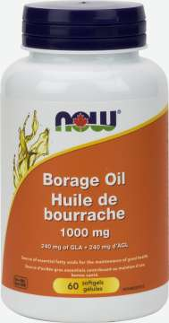 Borage Oil 1,000 mg Softgels