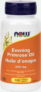 Evening Primrose Oil 500 mg  Softgels
