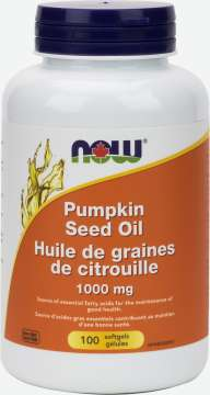 Pumpkin Seed Oil 1,000 mg Softgels