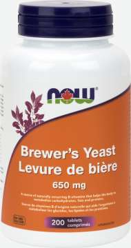 Brewer's Yeast 650 mg  Tablets