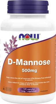 D-Mannose 500mg Veg capsule