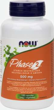 Phase-2® Starch Neutralizer 500 mg Veg Capsules