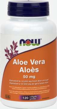 Aloe Vera Concentrate 50 mg  Softgels