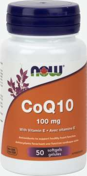 CoQ10 100 mg with Vitamin E  Softgels