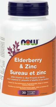 Elderberry & Zinc Lozenges