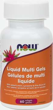 Liquid Multi Gels with Flax Oil  Softgels