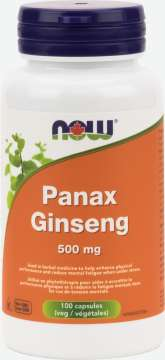 Panax Ginseng Extract 500 mg  Capsules