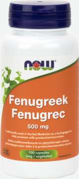 Fenugreek 500 mg  Veg Capsules