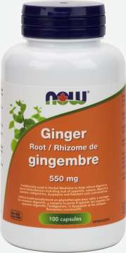 Ginger Root 550 mg Capsules
