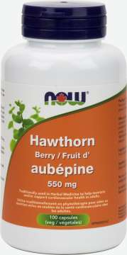 Hawthorn Berry 550 mg Capsules