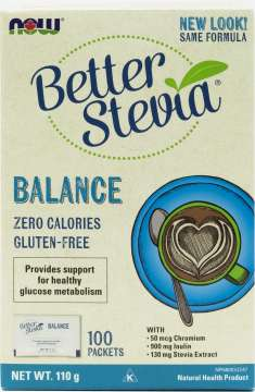 BetterStevia® Balance with Chromium and Inulin Packets