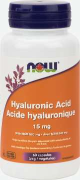 Hyaluronic Acid 15 mg Veg Capsules