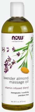 Lavender-Almond Massage Oil