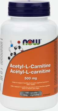 Acetyl L-Carnitine 500 mg  Veg Capsules