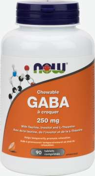 GABA Chewable 250 mg Tablets