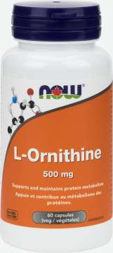 L-Ornithine 500 mg Capsules
