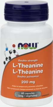L-Theanine 200 mg Veg Capsules