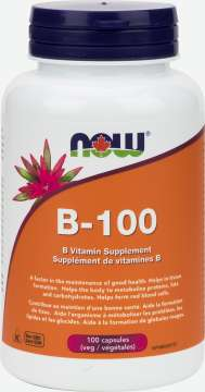 B-100, B Vitamin Supplement Veg Capsules