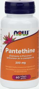 Pantethine 300 mg Softgels