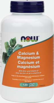 Calcium and Magnesium with Vitamin D and Zinc Softgels