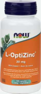L-OptiZinc® Monomethionine 30 mg Veg Capsules