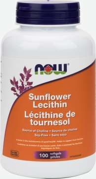 Sunflower Lecithin 1,200 mg Softgels