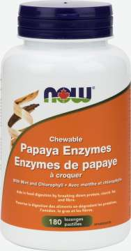 Papaya Enzymes Chewable Lozenges