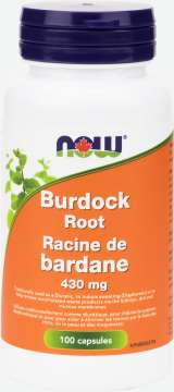 Burdock Root 430 mg  Capsules