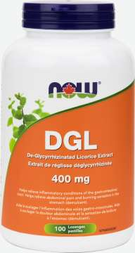 DGL Extract 400 mg  Lozenges