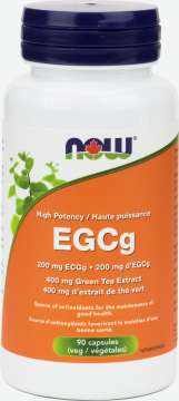 EGCg Green Tea Extract 400 mg (EGCg 200 mg)  Veg Capsules