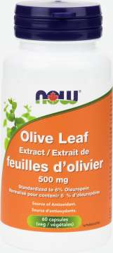 Olive Leaf Extract 500 mg  Veg Capsules