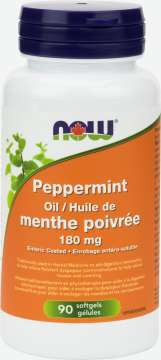 Peppermint Oil 180 mg Softgels