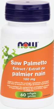 Saw Palmetto Extract 160 mg Softgels