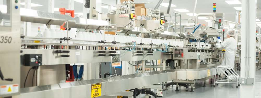 A NOW Foods production facility